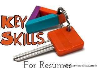 Customer service skills in a resume